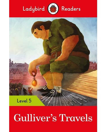 Gulliver's Travels - Ladybird Readers - Level 5 - Book With Downloadable Audio (Us/Uk)