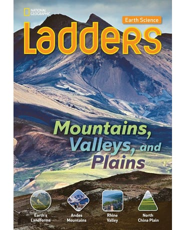 Mountains, Valleys, And Plains - Ladders Earth Science - On-Level