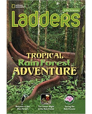 Tropical Rainforest Adventure Ladders - Life Science - Above-Level