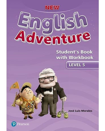 New English Adventure 5 - Student's Book With Workbook
