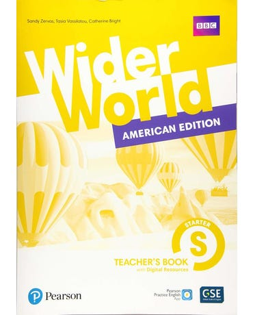 Wider World Starter - American Edition - Teacher's Book With Presentation Tool & Digital Resources And App