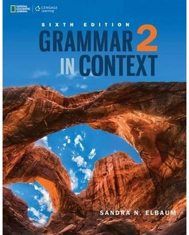 Grammar In Context 2 - Student's Book - Sixth Ediiton