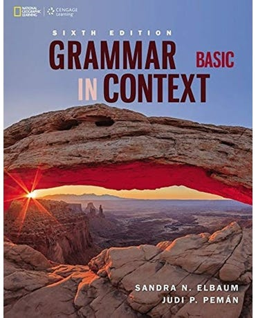 Grammar In Context Basic - Student's Book - Sixth Edition