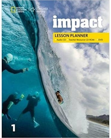 Impact American 1 - Lesson Planner With MP3 Audio CD And Teacher Resource CD-ROM & DVD