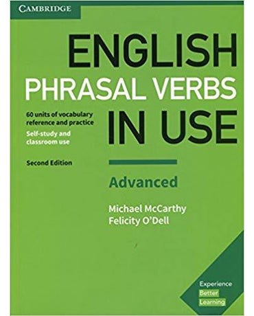 English Phrasal Verbs In Use Advanced - Student's Book With Answers - Second Edition