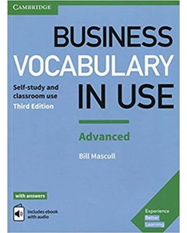Business Vocabulary In Use ADV W/Ans & Enhanced Ebook - 3Rd Edition