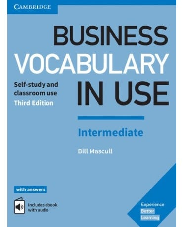 Business Vocabulary Use Intermediate - Book With Answers And Enhanced & Enhanced Ebook - Third Edit