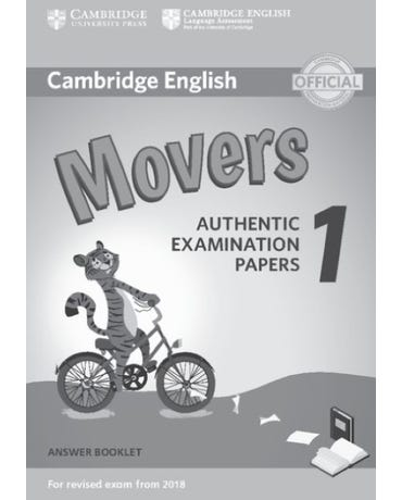Cambridge English Movers 1 - Answer Booklet