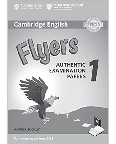 Cambridge English Flyers 1 - Answer Booklet