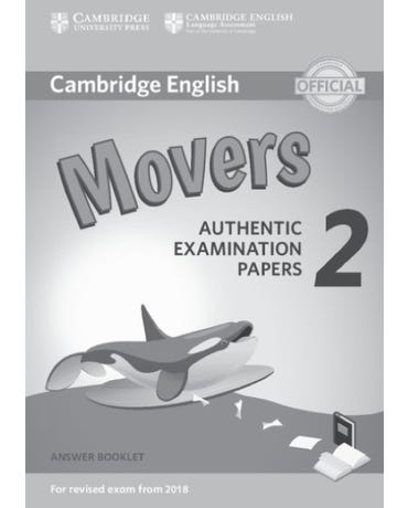 Cambridge Young Learners Movers 2 - Answer Booklet - Revised Exam 2018