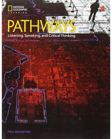 Pathways 4 - Listening, Speaking And Critical Thinking - Student Book With Online Workbook - Second Edition