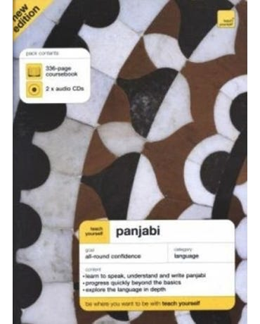 Panjabi - Teach Yourself - Book With Audio CD (Pack Of 2) - Third Edition