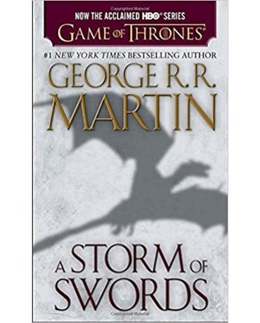 A Storm Of Swords - A Song Of Ice And Fire - Book 3 - Mass Market Paperback