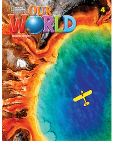 Our World British 4 - Lesson Planner + Audio CD + DVD - Second Edition