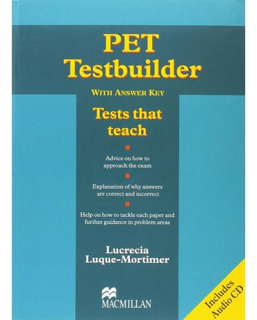 Pet Testbuilder - Student's Book With Key And Audio CD