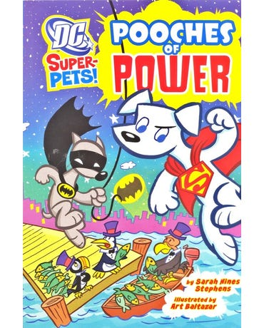 Pooches Of Power - Dc Super Heroes - Super-Pets