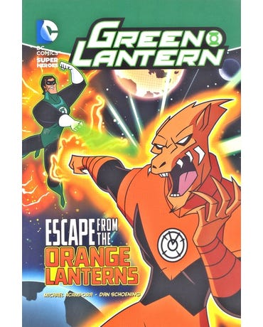 Escape From The Orange Lanterns - Dc Super Heroes - Green Lantern