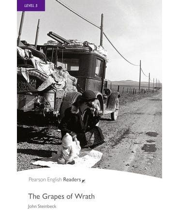 The Grapes Of Wrath - New Penguin Readers - Level 5 - Book With Audio MP3