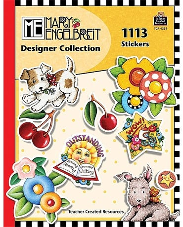 Mary Engelbreit Designer Collection - 1113 Stickers
