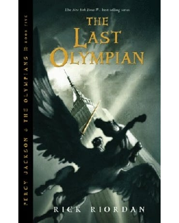 The Last Olympian - The Percy Jackson And The Olympians - Book 5
