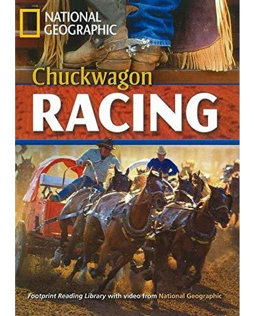 Chuckwagon Racing - Footprint Reading Library - American English - Level 5 - Book