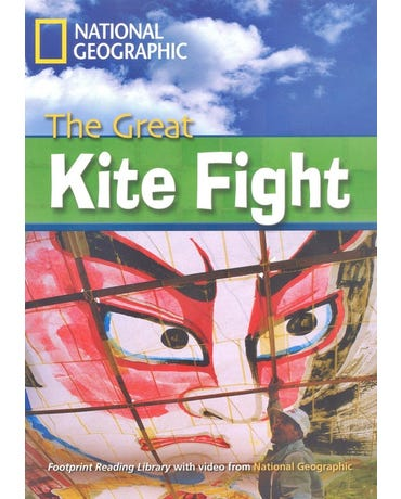 The Great Kite Fight - Footprint Reading Library - American English - Level 6 - Book