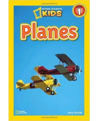 Planes - National Geographic Kids - Level 1