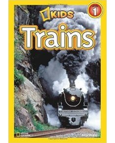 Trains - National Geographic Kids - Level 1