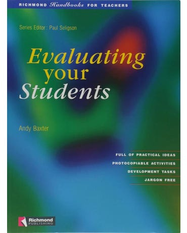 Evaluating Your Students - Richmond Handbooks For Teachers - Worksheets