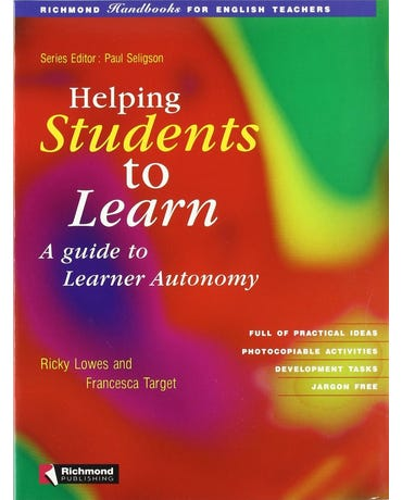 Helping Students To Learn - Richmond Handbooks For Teachers - Worksheets