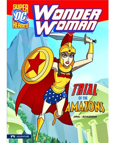 Trial Of The Amazons - Dc Super Heroes - Wonder Woman