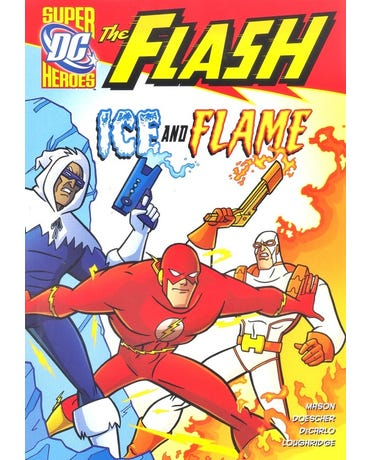 Ice And Flame - Dc Super Heroes - The Flash