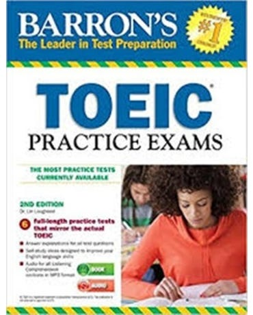 Barron's Toeic Practice Exams - Book With MP3 CD - Second Edition