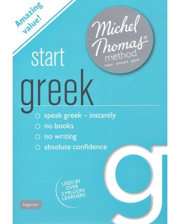 Start Greek With The Michel Thomas Method - Audiobook