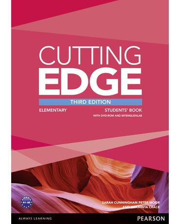 Cutting Edge Elementary - Student's Book With DVD-ROM And Myenglishlab Pack - Third Edition