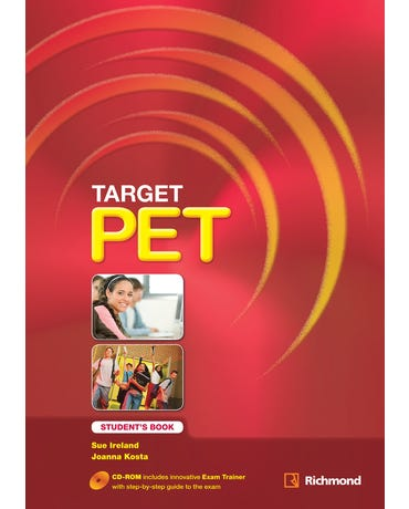 Target Pet - Student's Book + CD-ROM (New Edition)