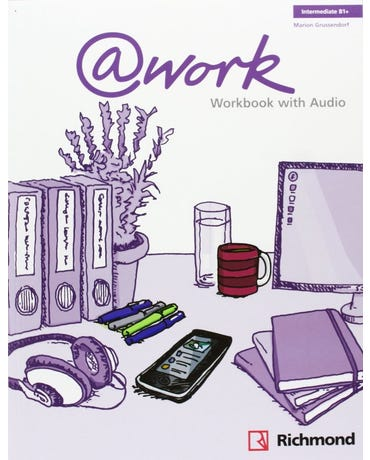 At Work Intermediate - Workbook With Audio CD