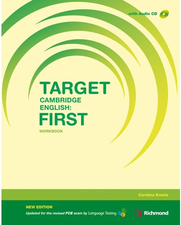 Target Cambridge English - First - Workbook With Audio CD