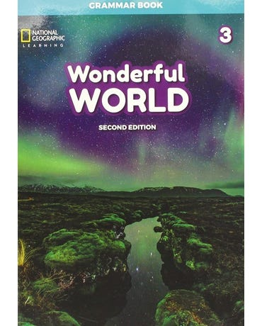 Wonderful World 3 - Grammar Book - Second Edition