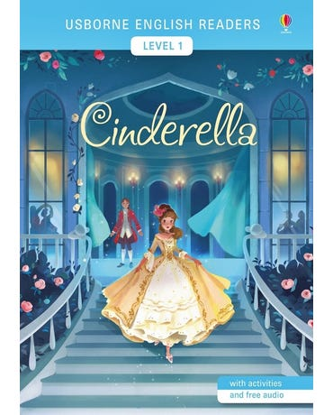 Cinderella - Usborne English Readers - Level 1 - Book With Activities And Free Audio