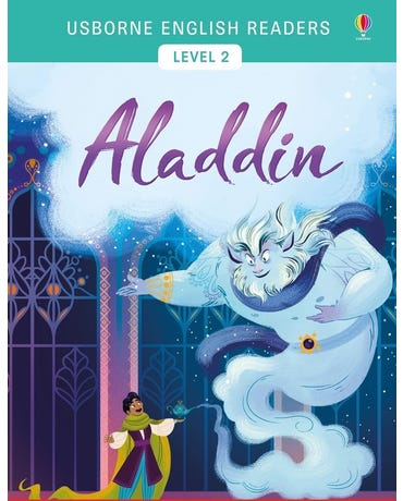 Aladdin - Usborne English Readers - Level 2 - Book With Activities And Free Audio