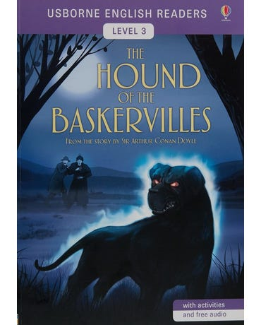 The Hound Of The Baskervilles - Usborne English Readers - Level 3 - Book W Activities And Free Audio