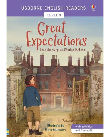 Great Expectations - Usborne English Readers - Level 3 - Book With Activities And Free Audio