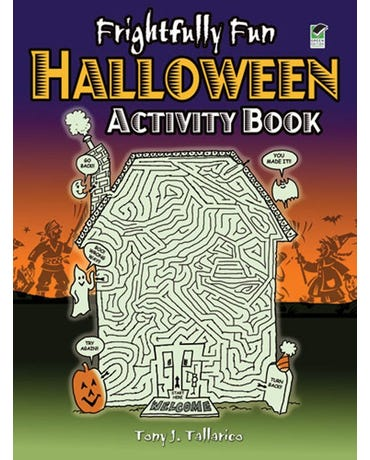 Frightfully Fun Haloween - Activity Book