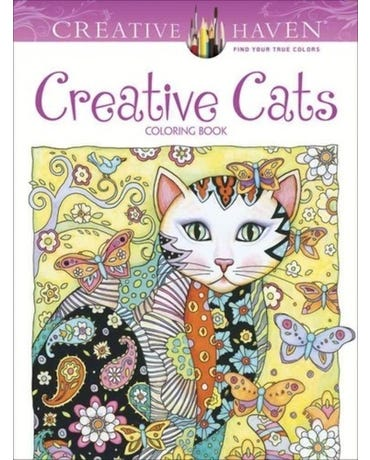 Creative Cats - Creative Haven Coloring Books