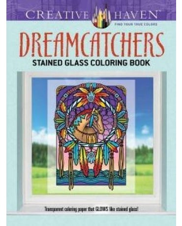 Dreamcatchers Stained Glass Coloring Book - Creative Haven
