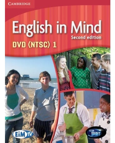 English In Mind 1 - DVD - Second Edition