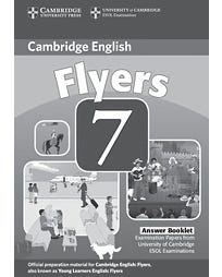 Cambridge Young Learners English Tests Flyers 7 - Answer Booklet