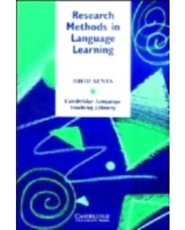 Research Methods In Language Learning - Book
