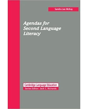 Agendas For Second Language Literacy - Book